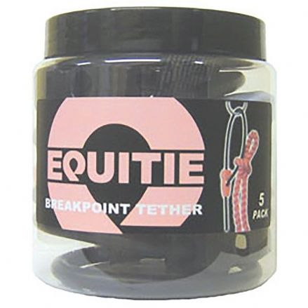 Equi Tie Tub of Five Mixed Colours